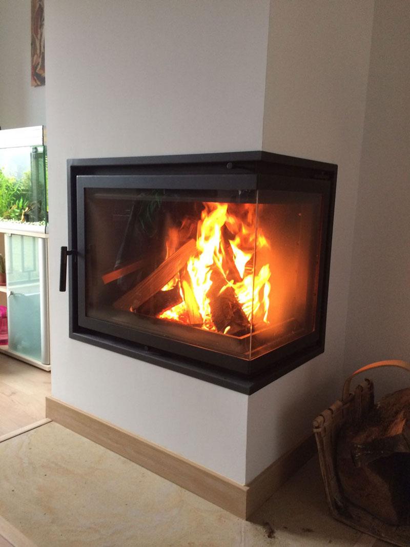 instalación de fogón calefactor biomasa 1
