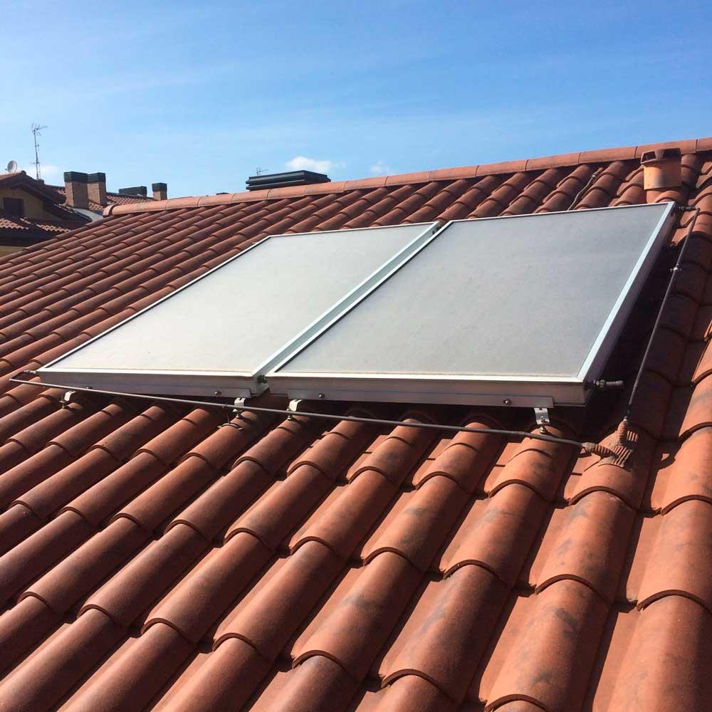 instalación de placas solares en viviendas