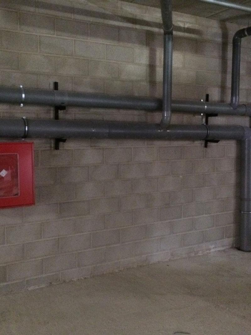 instalación de saneamientos
